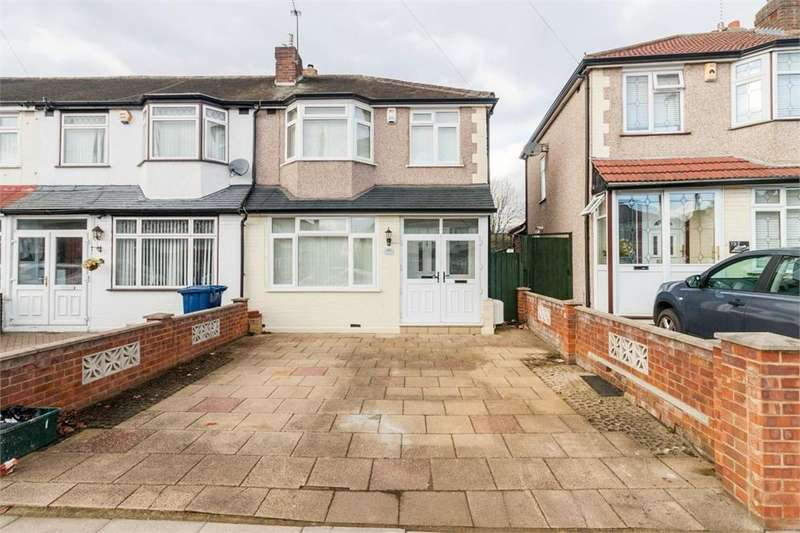 3 Bedrooms End Of Terrace House for sale in Conway Crescent, Perivale