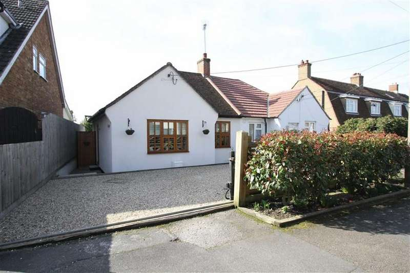 2 Bedrooms Semi Detached House for sale in Chestnut Avenue, Billericay
