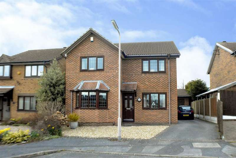 4 Bedrooms Detached House for sale in The Fairways, Mansfield Woodhouse, Mansfield