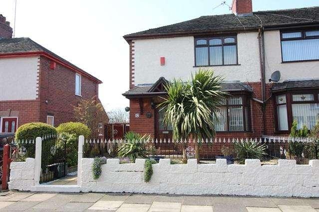 2 Bedrooms Semi Detached House for sale in MURHALL STREET, BURSLEM, STOKE-ON-TRENT