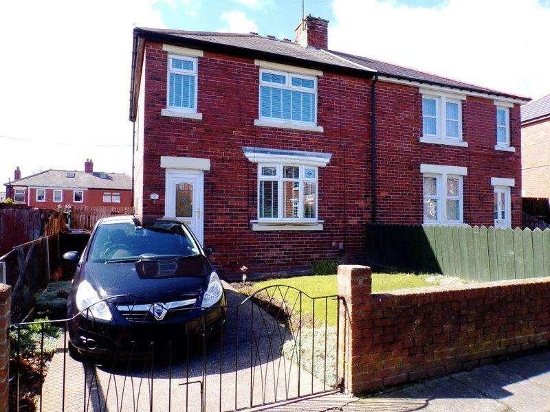 3 Bedrooms Semi Detached House for sale in Reid Avenue, Wallsend - Three Bedroom Semi-Detached House