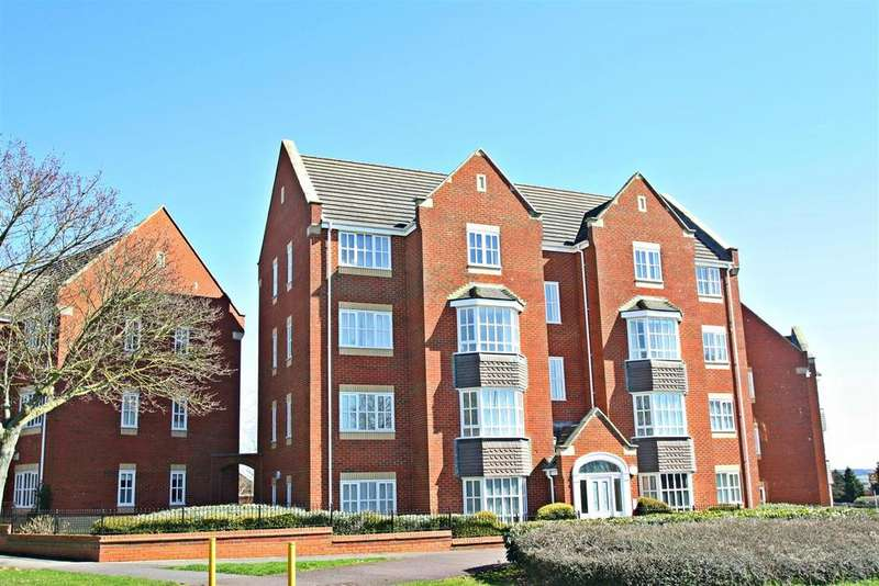 2 Bedrooms Apartment Flat for sale in Knaresborough Court, Bletchley, Milton Keynes