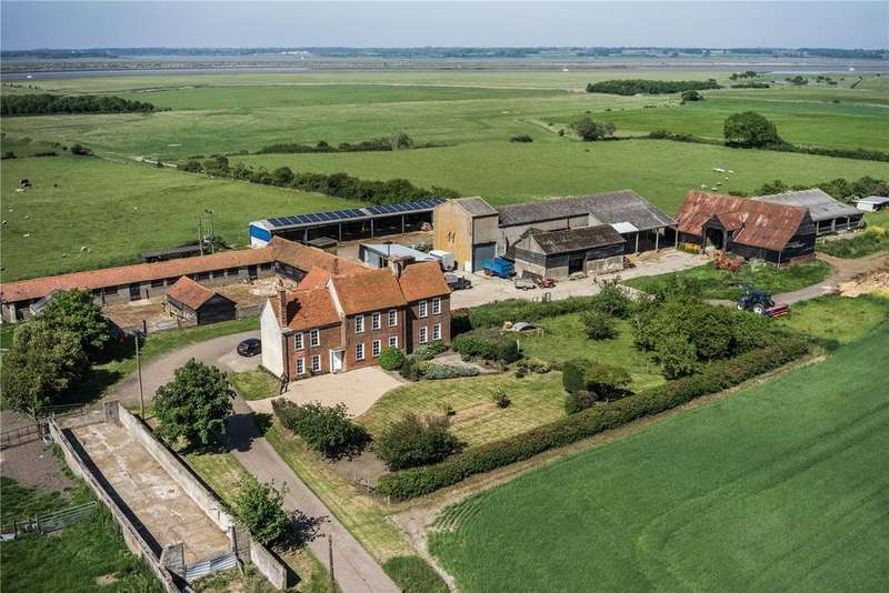 6 Bedrooms Farm Commercial for sale in Reeves Hall, Meeting Lane, Mersea Island, Colchester, CO5