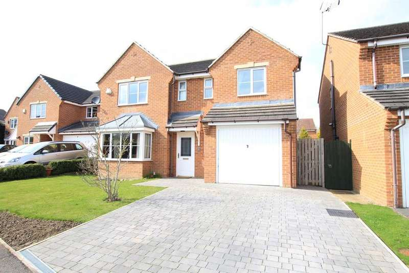 4 Bedrooms Detached House for sale in Magnolia Close, School Aycliffe