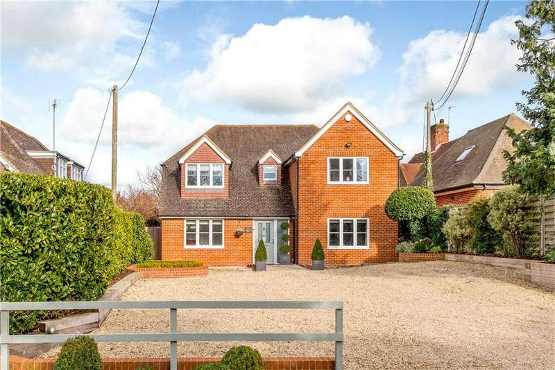 4 Bedrooms Detached House for sale in Milestone Avenue, Twyford, Reading, Berkshire, RG10