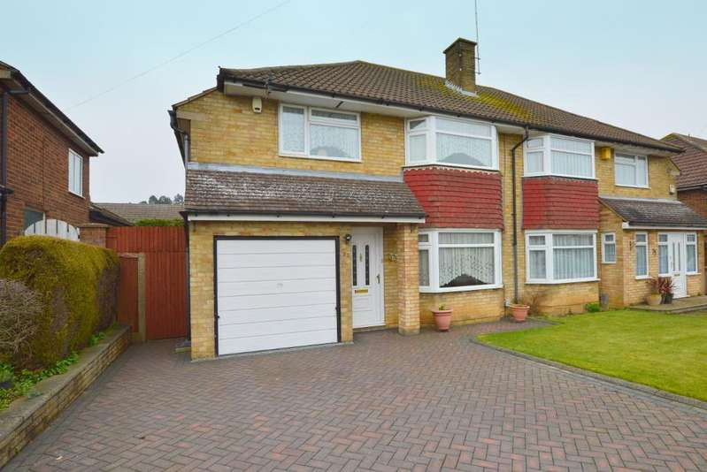 3 Bedrooms Semi Detached House for sale in Mountgrace Road, Putteridge, Luton, LU2 8EW