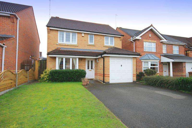 3 Bedrooms Detached House for sale in Crown Way, Chellaston