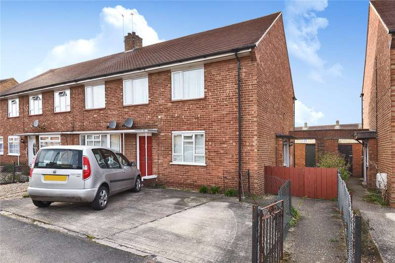 2 Bedrooms Maisonette Flat for sale in Ash Grove, Harefield, Uxbridge, Middlesex, UB9
