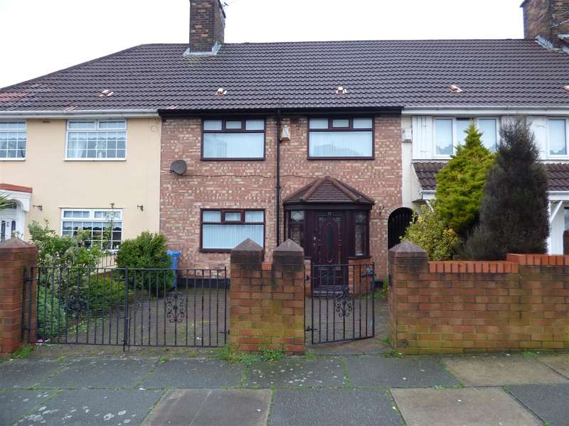 3 Bedrooms Terraced House for sale in Nyland Road, Huyton, Liverpool