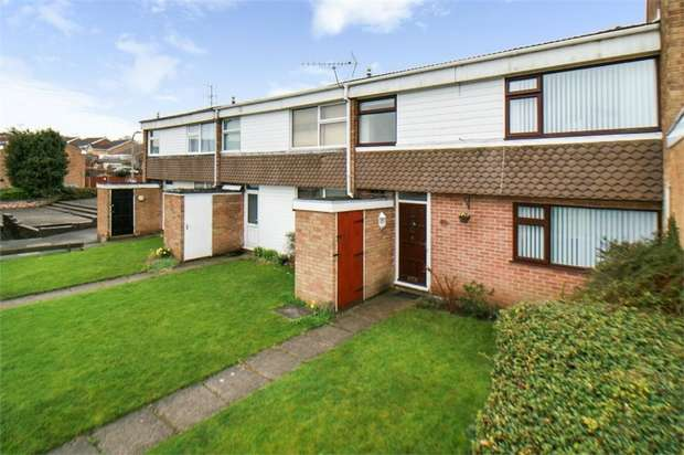 3 Bedrooms Terraced House for sale in Griffin Close, Shepshed, Loughborough, Leicestershire