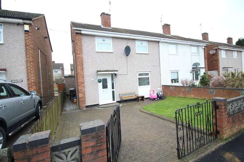 3 Bedrooms Semi Detached House for sale in Blair Drive, Bedworth, CV12