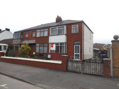 3 Bedrooms Semi Detached House for sale in East Lancashire Road, Lowton, Warrington, Greater Manchester