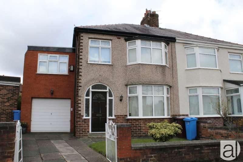 4 Bedrooms Semi Detached House for sale in Derwent Avenue Prescot L34