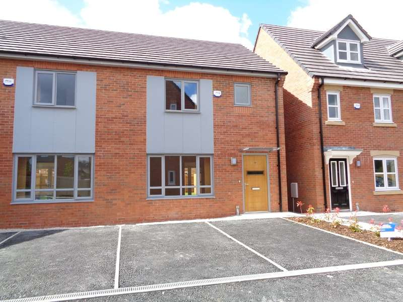 3 Bedrooms Semi Detached House for sale in Greene Way, Salford, M7