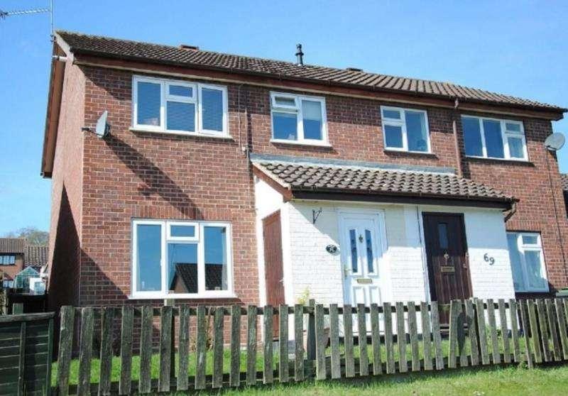3 Bedrooms Semi Detached House for rent in Stowmarket Road, Ipswich, Suffolk