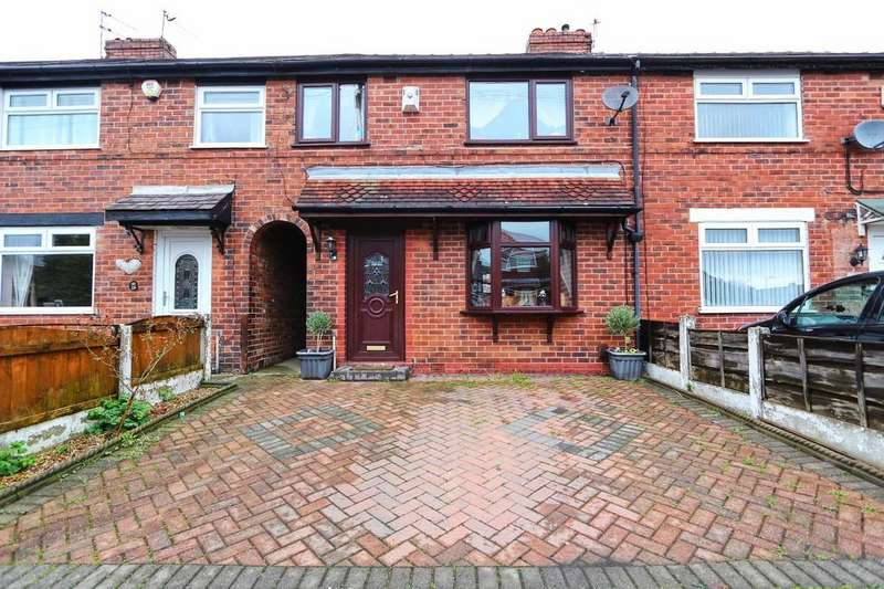 3 Bedrooms Terraced House for sale in 131 Eldon Road, Irlam, Manchester