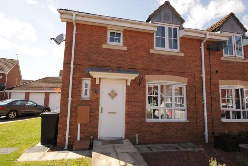 3 Bedrooms End Of Terrace House for sale in Rivelin Park, Kingswood, Hull, East Yorkshire, hu7 3gp