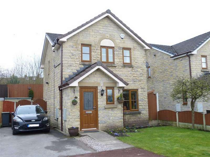 3 Bedrooms Detached House for sale in Vale Mount, Hadfield, Glossop