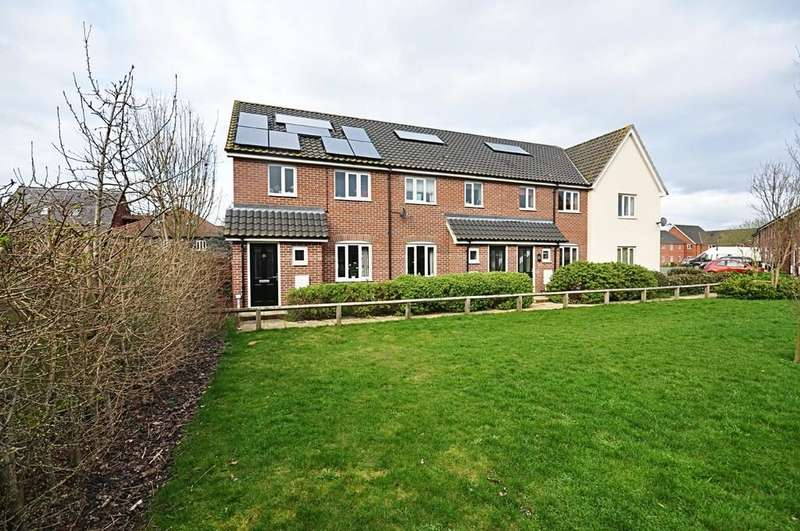 3 Bedrooms End Of Terrace House for sale in Bartrums Mews, Diss