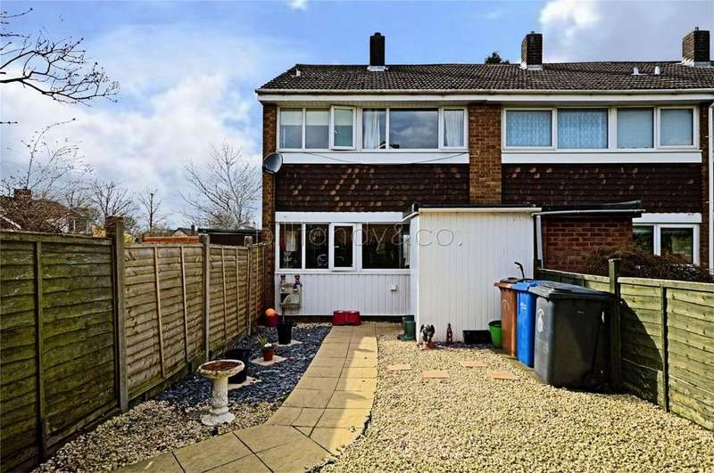 3 Bedrooms End Of Terrace House for sale in Woodland Way, BURNTWOOD, Staffordshire