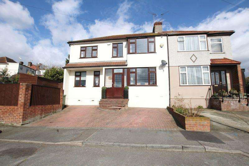 5 Bedrooms Semi Detached House for sale in Chapel Close, Crayford