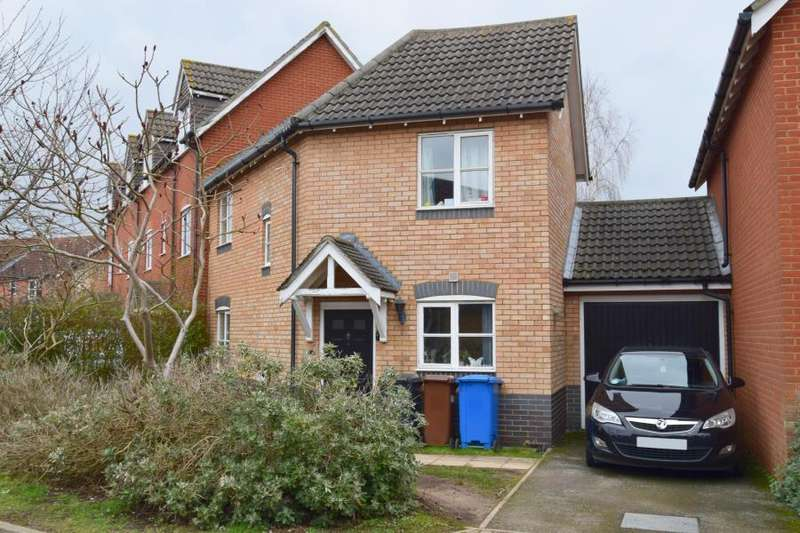 3 Bedrooms End Of Terrace House for sale in Lysander Drive, Ipswich