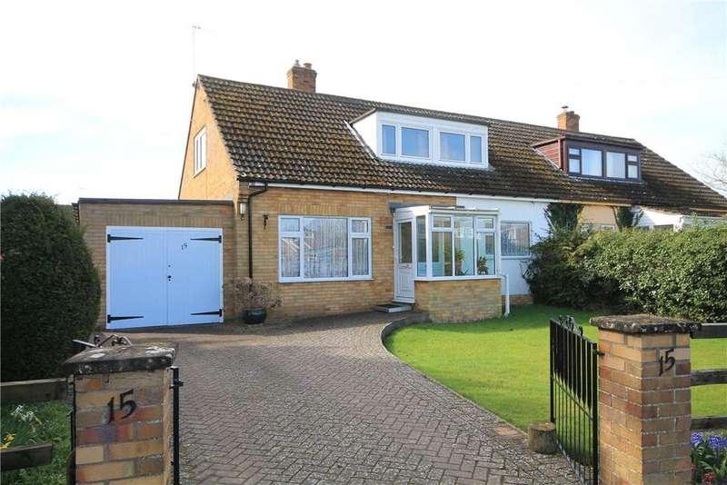 3 Bedrooms Semi Detached Bungalow for sale in Broad Lane, Haslingfield, Cambridge, CB23