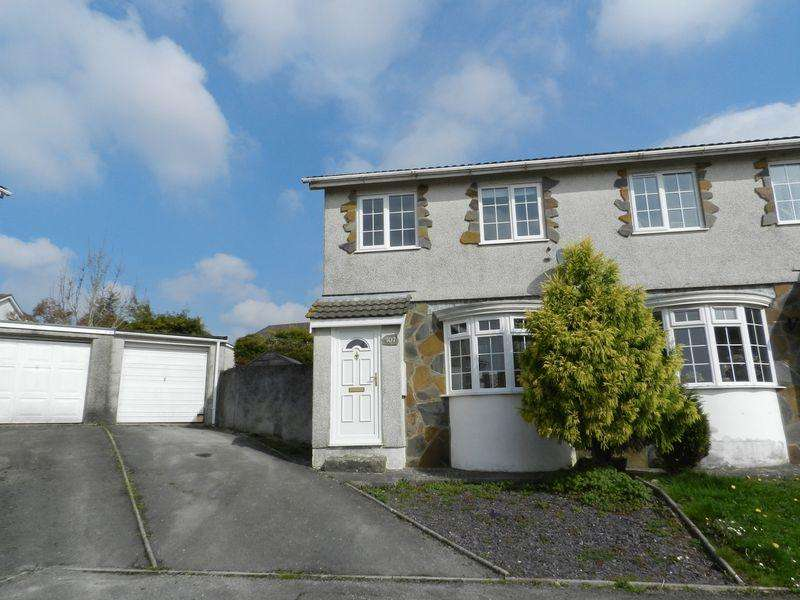 3 Bedrooms Semi Detached House for sale in Maple Drive Brackla Bridgend CF31 2PR