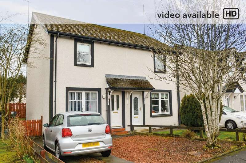 2 Bedrooms Semi Detached House for sale in Lendrick Avenue, Callander, Callander, FK17 8LZ