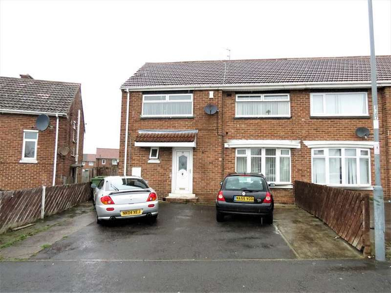 4 Bedrooms Semi Detached House for sale in Rydal Crescent, Peterlee, County Durham, SR8 5LP