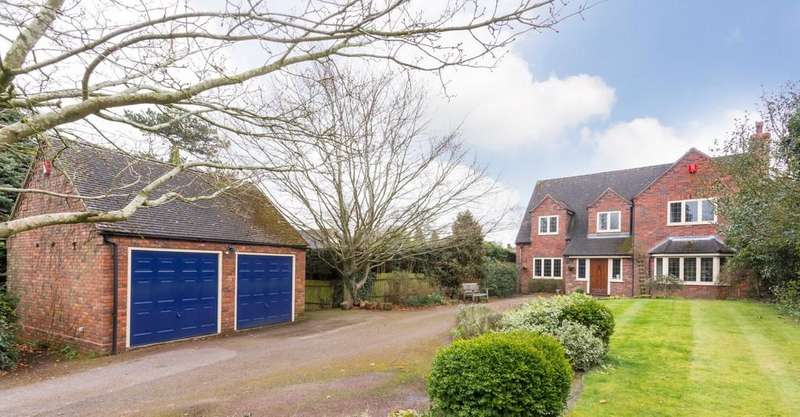 4 Bedrooms Detached House for sale in The Village, Walton on the Hill