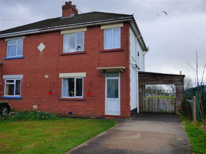3 Bedrooms Semi Detached House for sale in Fairfield Road, Bulwark, Chepstow