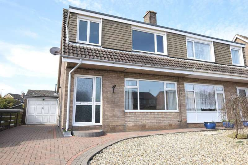 3 Bedrooms Semi Detached House for sale in Eastway, Eastfield, Scarborough, North Yorkshire YO11 3QX