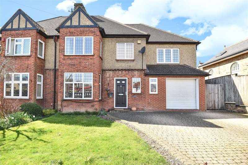 4 Bedrooms Semi Detached House for sale in Eldon, Bury Street, Ruislip, Middlesex, HA4
