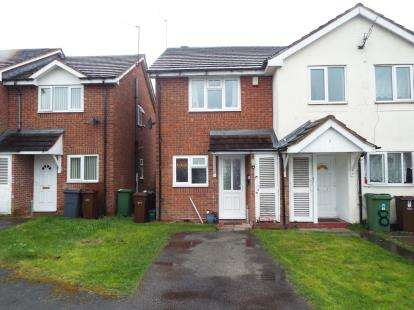 2 Bedrooms End Of Terrace House for sale in Colaton Close, Park Village, Wolverhampton, West Midlands