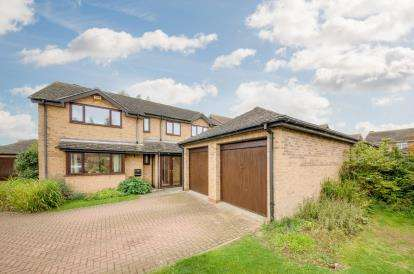 5 Bedrooms Detached House for sale in Payne Road, Wootton, Bedford, Bedfordshire