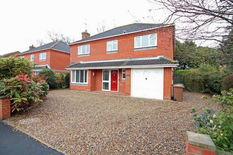 4 Bedrooms Detached House for sale in Lynfield Road, North Walsham