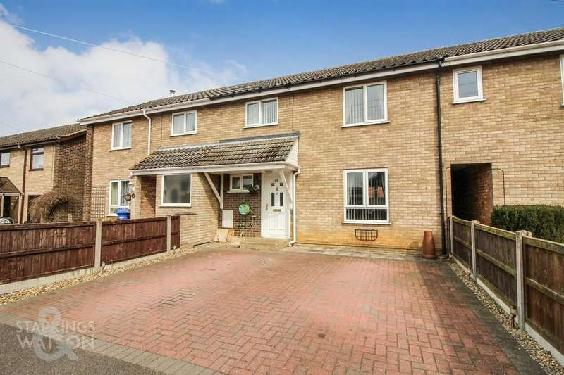 3 Bedrooms Terraced House for sale in Kings Road, Bungay