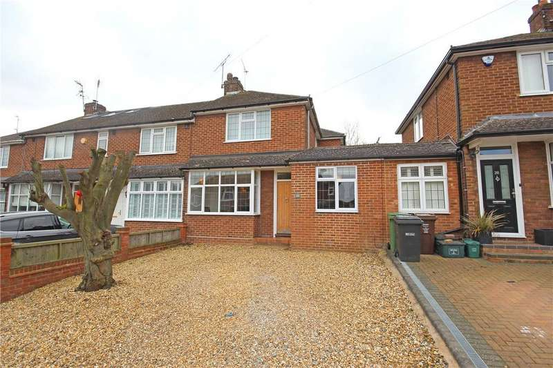 3 Bedrooms Terraced House for sale in Weybourne Close, Harpenden, Hertfordshire