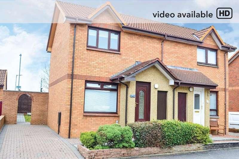 2 Bedrooms Semi Detached House for sale in Aqua Avenue, Hamilton, South Lanarkshire, ML3 9BA