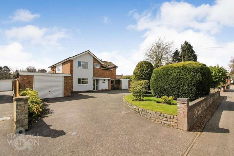 4 Bedrooms Detached House for sale in Crow Road, North Walsham