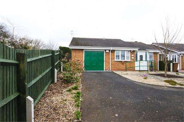 2 Bedrooms Terraced Bungalow for sale in Torridon Road, Coppice Farm, WILLENHALL, West Midlands