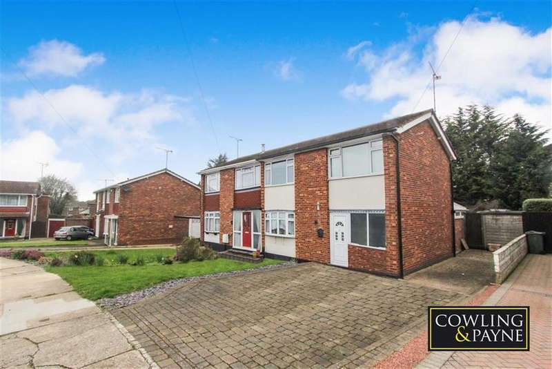 3 Bedrooms Semi Detached House for sale in Long Meadow Drive, Wickford, Essex