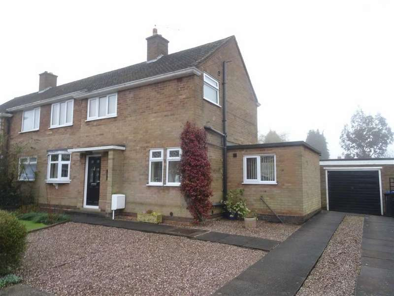 3 Bedrooms Semi Detached House for sale in Elizabeth Road, Hinckley