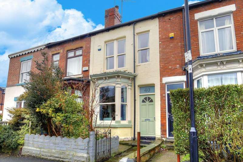 3 Bedrooms Terraced House for sale in Empire Road, Nether Edge, Sheffield S7