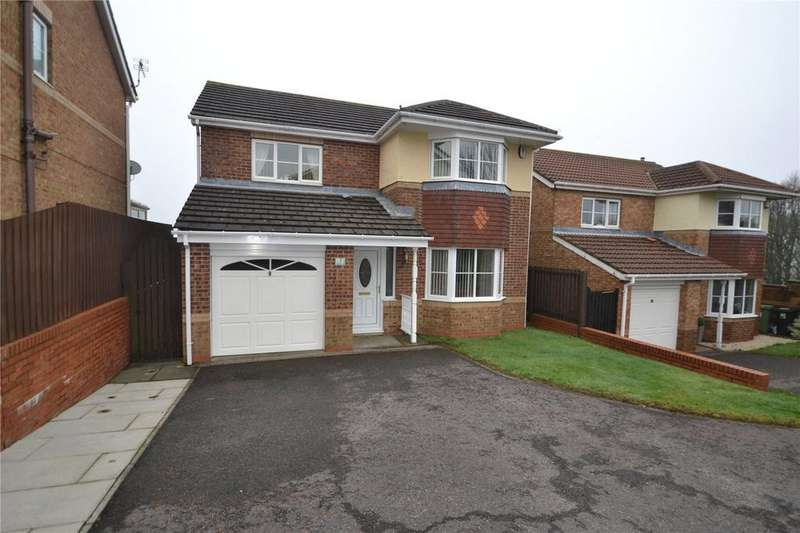 4 Bedrooms Detached House for sale in Cottingham Close, Peterlee, Co.Durham, SR8