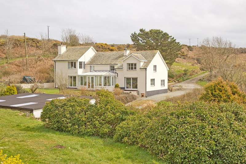 4 Bedrooms Detached House for sale in Llaneilian, Anglesey, North Wales