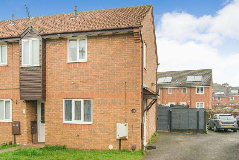 2 Bedrooms End Of Terrace House for sale in Cardinal Hinsley Close, Newark
