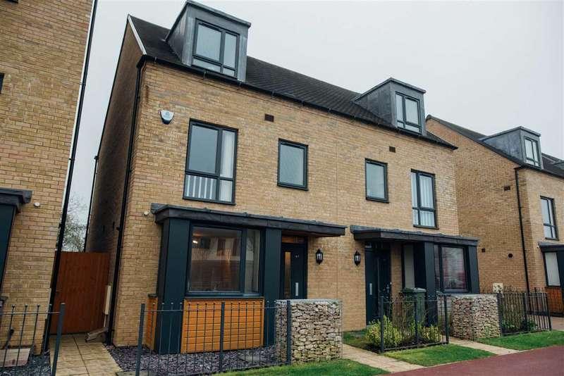 4 Bedrooms Semi Detached House for sale in Hayton Way, Tattenhoe Park, Milton Keynes
