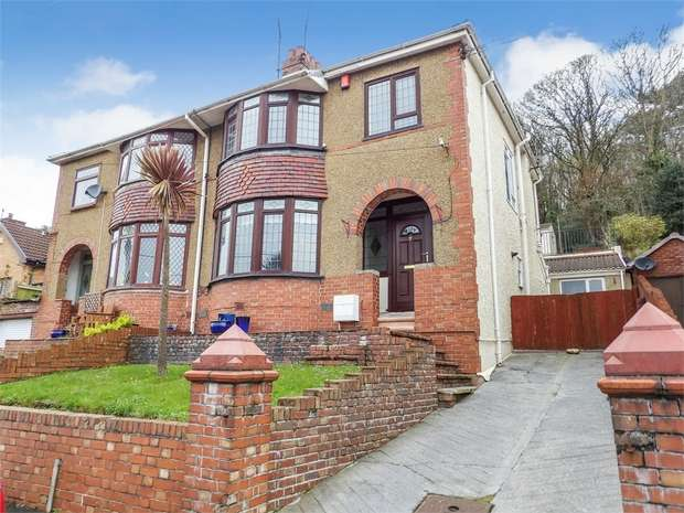 3 Bedrooms Semi Detached House for sale in Pentrepoeth Road, Llanelli, Carmarthenshire